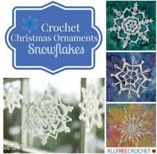 Crochet Snowflake Pattern Best 48 Crochet Snowflake Ornaments AllFreeCrochet