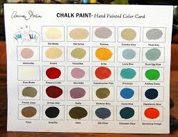 Chalk Paint Colour Chart Paint Me White