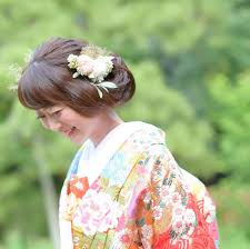 引振袖に合わせたい髪型をご紹介 京都タガヤ和婚礼