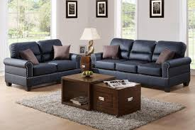 leather sofa sets. Contemporary Sofa Aspen Black Leather Sofa And Loveseat Set Intended Sets N