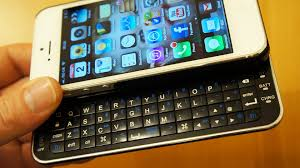 iPhone SE 5S 5 Bluetooth Keyboard Case Review