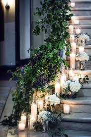 wedding staircase decor amanda miller photography