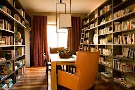 Awesome Study Library Room Design Pictures - Best idea home design .