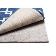 great grip dual surface 5 ft x 8 ft rug cushion pad 14039 the home depot