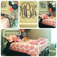 monogram comforter set custom chevron duvet bedding personalized monogr sets