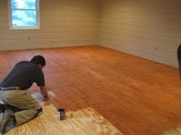 Diy Plank Flooring On The Cheap With Quarry Orchard Somewhat Simple Inside Wood  Floors Cheap