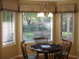 Gorgeous Kitchen Bay Window Curtains Window Treatments For Kitchen Bay  Windows 1146