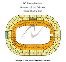 Bc Place Seating Chart Bc Place Stadium Tickets Bc Place Stadium Seating Charts