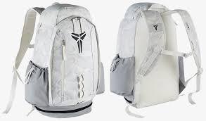 nike kobe 11 backpack white grey black