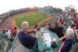 Budweiser Roof Deck Fenway Seating Chart View From The Budweiser Roof Deck At Bostons Fenway Park