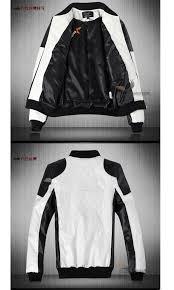 men s leather jacket motorcycle clothing fashion outerwear boyfriend men men s 10p05sep15