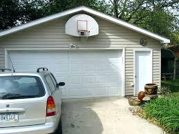 basketball hoop over garage huge with indoor i52