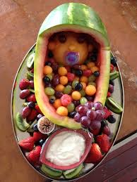 Decorative Fruit Trays Gender Reveal Party Ideas Baby Shower Baby Party Party Ideas 96