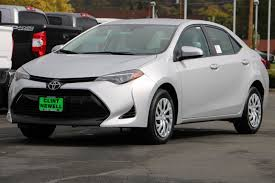 New 2018 Toyota Corolla LE 4dr Car in Roseburg #T18049 | Clint ...