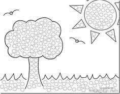 Small Picture 26 FREE Printable Dot Marker Templates Free Coloring Pages