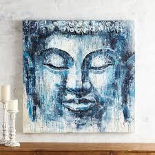 indigo buddha wall art pier 1 in 2020