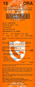 Big 2018 Information Regulations California – Drawing Eregulations amp; Hunting Seasons Game