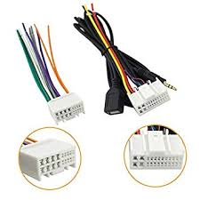 Wire Color Code Chart Car Stereo Car Audio Wiring Harness Adapter Wire Color Code Chart How