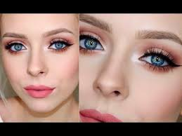 easy mostly affordable prom makeup look cosmobyhaley