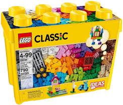 Đồ chơi lắp ráp LEGO Classic 10698 - Thùng gạch sáng tạo khổng lồ 790 mảnh  ghép (LEGO Classic Large Creative Brick Box 10698) giá rẻ tại cửa hàng  LegoHouse.vn LEGO Việt Nam