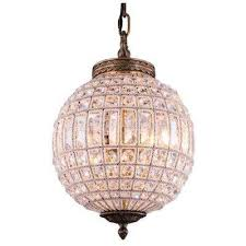 olivia 1 light french gold chandelier with clear crystal elegant