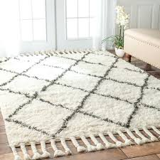 white wool rug black and white moroccan rug collection new felted wool rug in winter white elegant throughout jenosco black and white