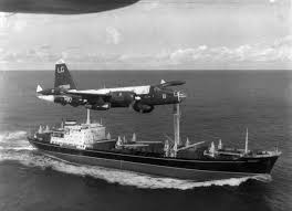 one step from nuclear war national archives a p2v neptune u s navy patrol plane flies over a soviet freighter 428 n 1065352