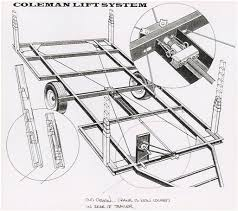 understanding camping trailers roof lift systems custom pop