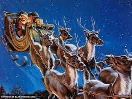Image result for picture flying reindeer