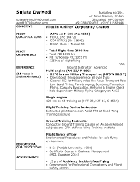 49 Best Entry Level Pilot Resume Resume Template