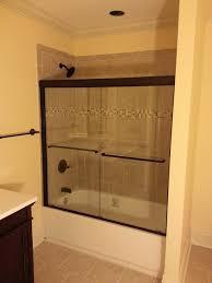 oil rubbed bronze sliding shower doors