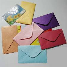 2019 Small Envelope For Vip Cards Message Cards Packing Mini Size