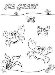 Crabe 46 Animaux Coloriages Imprimer