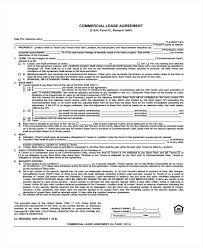 Commercial Lease Agreement Template Sa – Therunapp