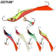 <b>Goture 1pc</b> Winter Fishing Lure 14.4g 7.1cm <b>Ice</b> Fishing Balancer ...
