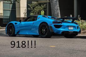 porsche 918 spyder blue. porsche 918 spyder blue 1