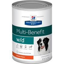 Hills Prescription Diet W D Canine Canned