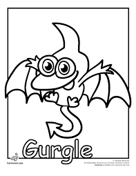 Small Picture Funny Monsters To ColorMonstersPrintable Coloring Pages Free