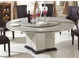 gray marble top round dining table