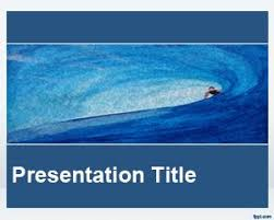 wave powerpoint templates free waves powerpoint templates
