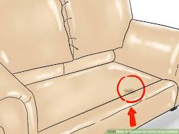 how to remove grease stain from leather sofa bestskinl com