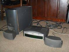 home theater 2 1. nice bose 321 series ii home theater entertainment system 3 2 1 in box read all