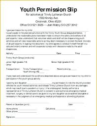 Permission Slip Templates Field Trip Forms Free Template