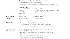 How To Write Computer Skills On A Resume. Examples Of Skills On ...