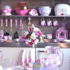 pink kitchen decor gallery of cute appliances with hello kitty ideas flamingo decorating pink kitchen decor