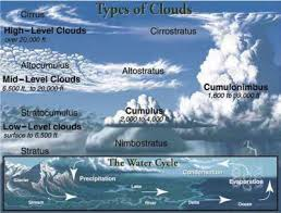 Types Of Clouds Chart Mark Twain Media 9781936024445