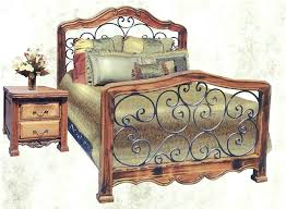 wood and iron bedroom furniture. Interesting Iron Wood And Metal Bedroom Wrought Iron Headboard In King Bed Queen  Custom Furniture Inspirations 7 Suites With W