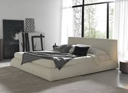 low modern beds oscar low profile modern bed statement