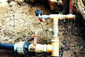 underground water line pipe copper repair e50