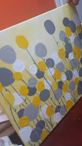 Diy Canvas Painting Best 25 Yellow Canvas Art Ideas On Pinterest Flower Painting